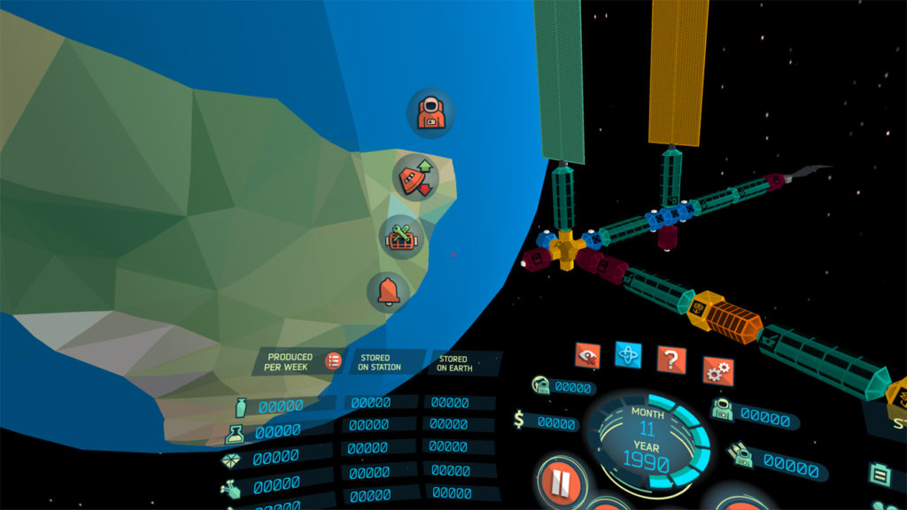 """Looking """"to the left"""" of the virtual cockpit in the 'Low-End Mobile VR' version (no longer supported)."""