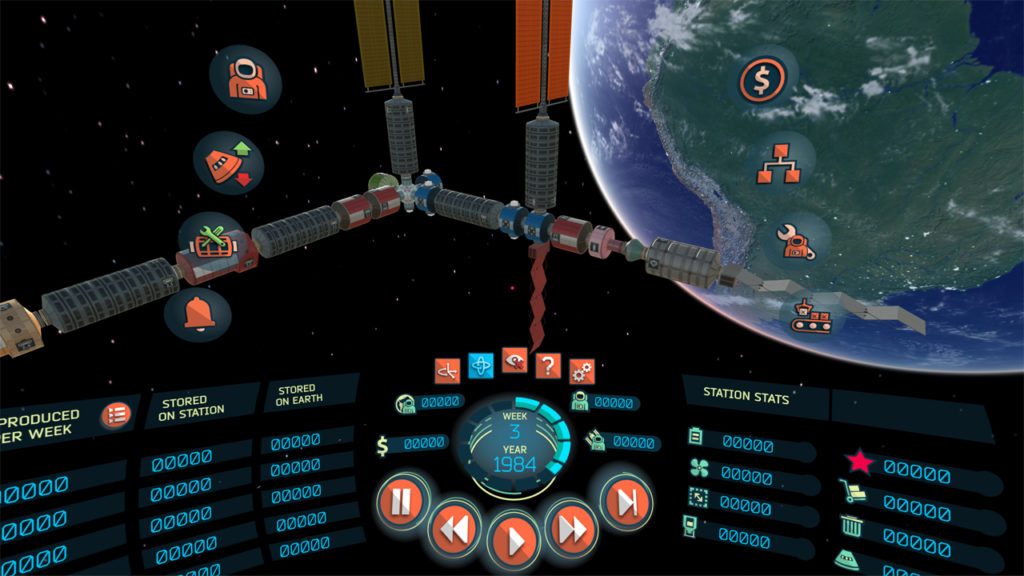 In-game screenshot of the 'High-End VR' version.