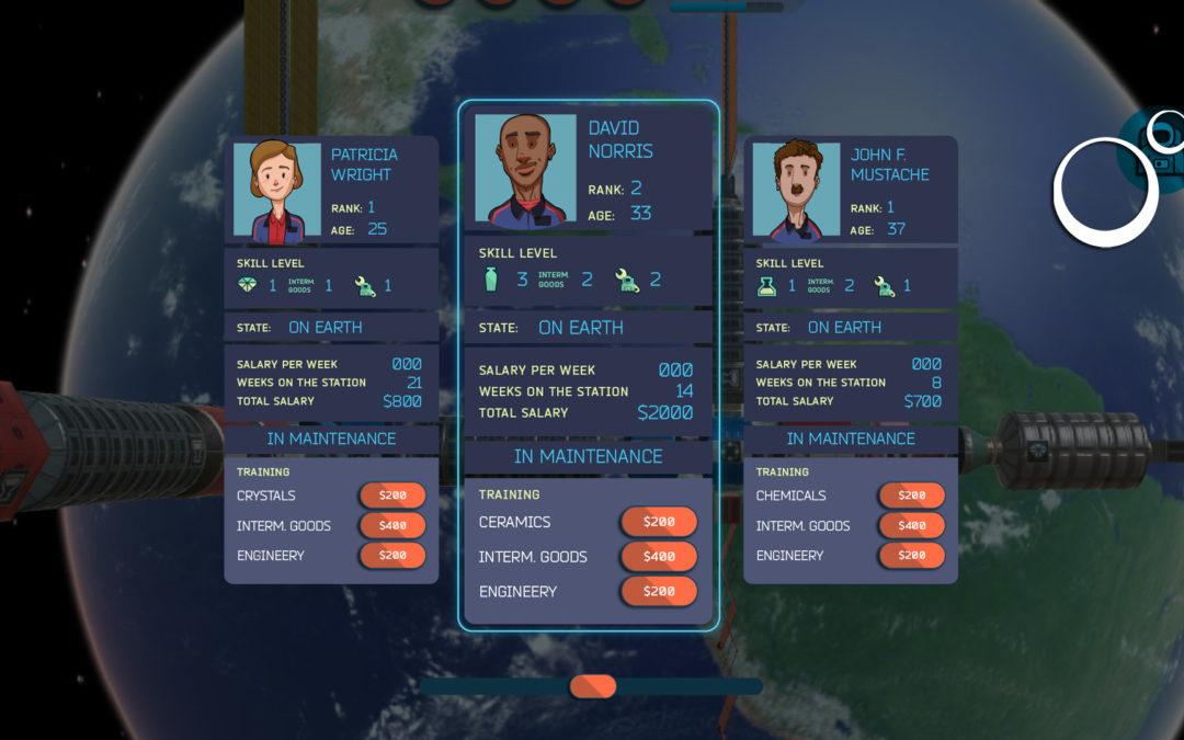 Sneak Peek – Astronauts & VR Gameplay