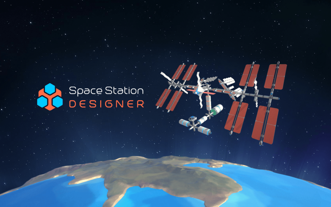 Space Station Designer's product page is now on Steam!